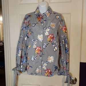 Nanette by Nanette Lepore Embroidered Blouse